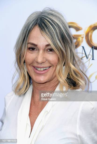 Nadia Comaneci attends the 6th annual Gold Meets Golden party hosted by Nicole Kidman and Nadia Comaneci at The House on Sunset on January 5, 2019 in...
