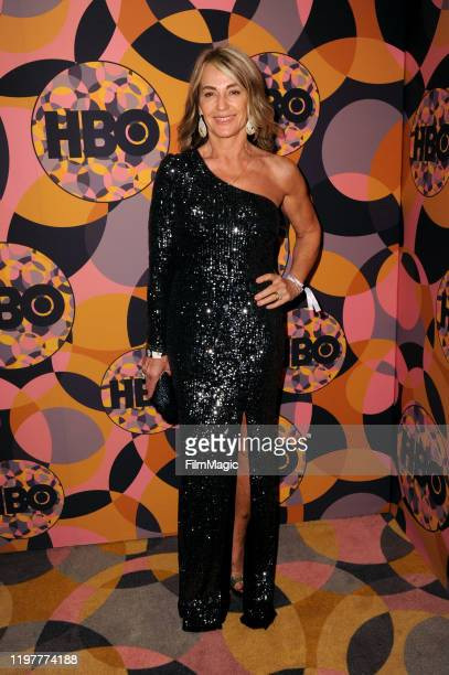 Nadia Comăneci attends HBO's Official 2020 Golden Globe Awards After Party in Los Angeles California