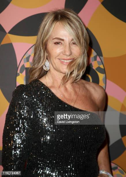 Nadia Comăneci attends HBO's Official Golden Globes After Party at Circa 55 Restaurant on January 05 2020 in Los Angeles California