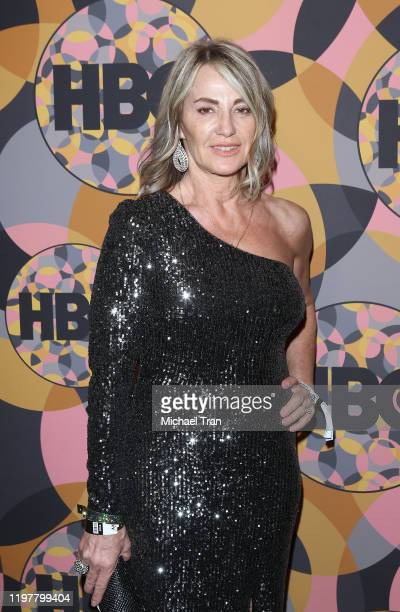 Nadia Comăneci attends the HBO's Official Golden Globes After Party held at Circa 55 Restaurant on January 05 2020 in Los Angeles California