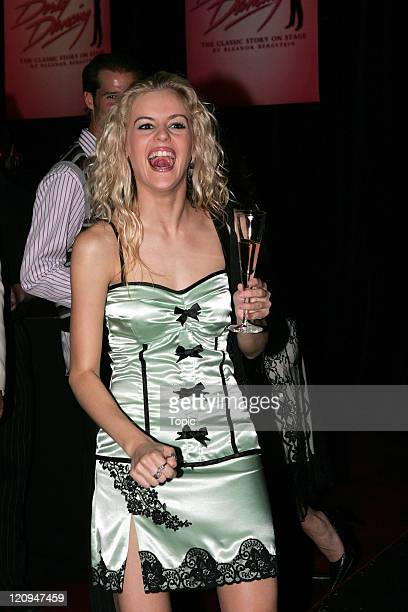 """Nadia Coote, cast of Dirty Dancing during """"Dirty Dancing: The Classic Story on Stage"""" New Zealand Premiere - After Party - March 30, 2006 at Civic..."""
