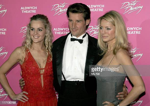 Nadia Coote Josef Brown and Tess Daly during Dirty Dancing The Classic Story on Stage Photocall at Café de Paris in London Great Britain