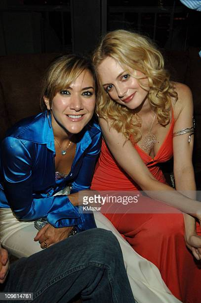 Nadia Dajani and Heather Graham during 2005 Fashion Rocks Rainbow Room After Party at Rainbow Room in New York City New York United States
