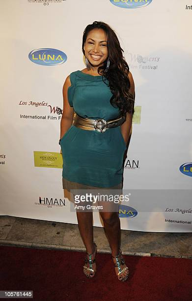 Nadia Dawn attends the Los Angeles Women's International Film Festival Opening Night Gala at Libertine on March 26 2010 in Los Angeles California