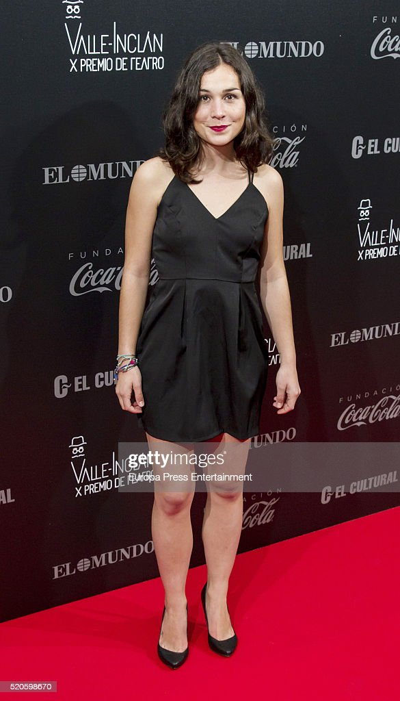 Nadia de Santiago attends the Valle-Inclan Theatre Awards at Teatro Real on April 11, 2016 in Madrid, Spain.