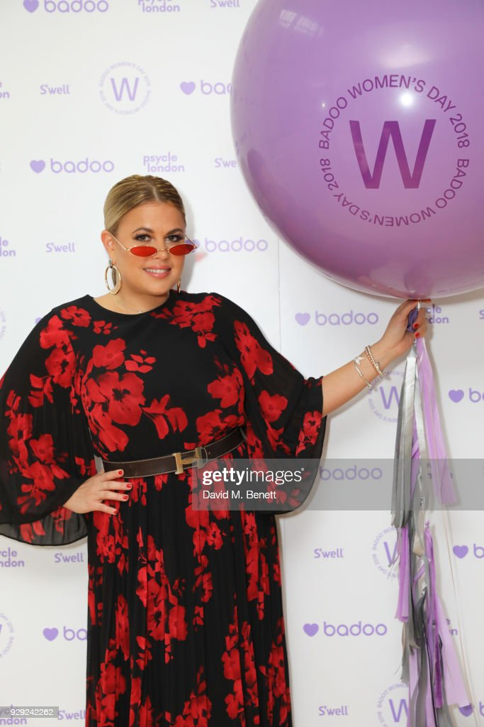 Nadia Essex attends as Badoo makes a bold statement this International Women's Day with their #WomenOfBadoo event. A special menu by Chef Tess Ward and a panel of inspirational talks from Daisy Lowe, Baroness Karren Brady and Tracy Edwards MBE, hosted by presenter Gemma Cairney. On March 8, 2018 in London, England