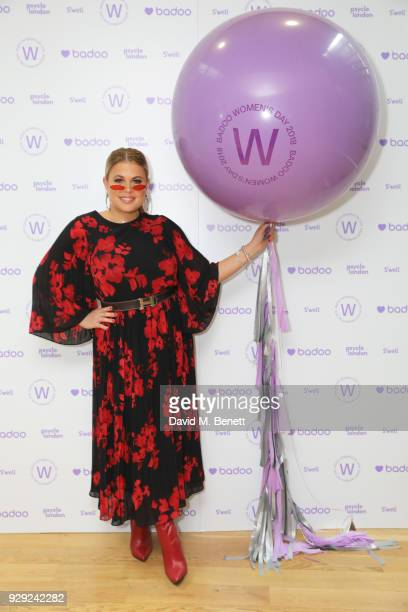 Nadia Essex attends as Badoo makes a bold statement this International Women's Day with their #WomenOfBadoo event A special menu by Chef Tess Ward...