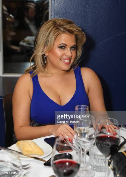 Nadia Essex attends The BARDOU Foundation's International Women's Day IWD private dinner at The Hospital Club on March 8 2018 in London England