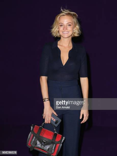 Nadia Fairfax attends the Alice McCall show at MercedesBenz Fashion Week Resort 19 Collections at Carriageworks on May 14 2018 in Sydney Australia