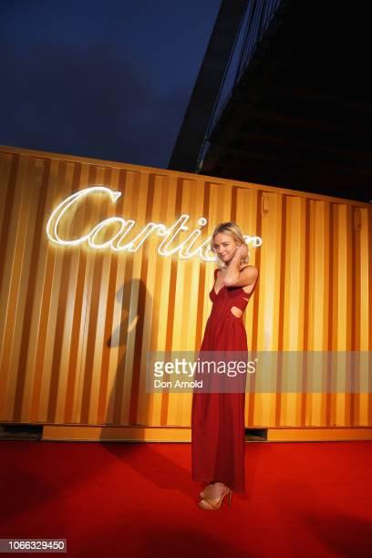 Nadia Fairfax attends the Cartier Precious Garage Party on November 29 2018 in Sydney Australia