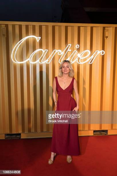 Nadia Fairfax attends the Cartier Precious Garage Party on November 29 2018 in Sydney Australia