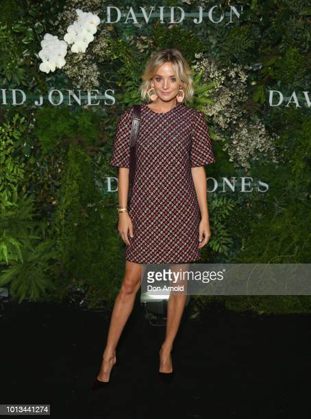 Nadia Fairfax attends the David Jones Spring Summer 18 Collections Launch at Fox Studios on August 8 2018 in Sydney Australia