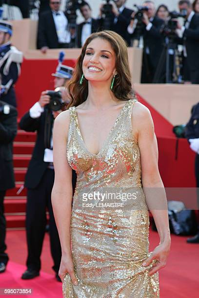 Nadia Fares arrives at the premiere of 'Chacun Son Cinema' during the 60th Cannes Film Festival