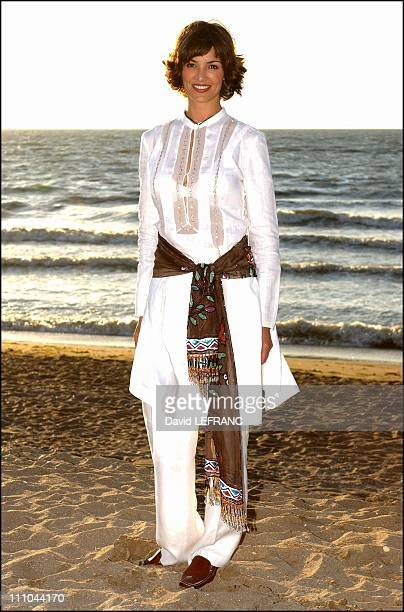 Nadia Fares at Cabourg Romantic Film Festival in France on June 12 2004