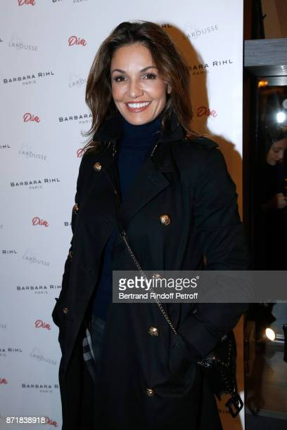 Nadia Fares attends Reem Kherici signs her book 'Diva' at the Barbara Rihl Boutique on November 8 2017 in Paris France