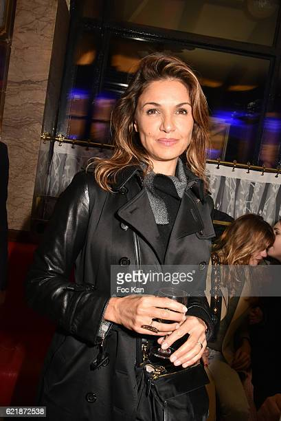 Nadia Fares attends the 'Prix De Flore 2016 ' Literary Prize Winner Announcement at Cafe de Flore on November 8 2015 in Paris France