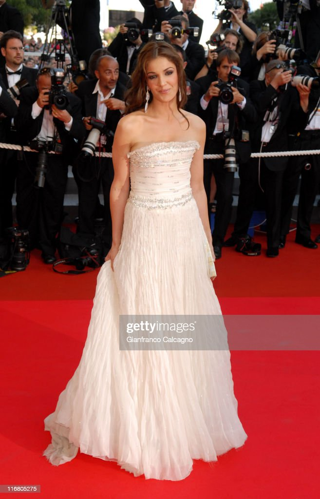 Nadia Fares during 2007 Cannes Film Festival - 'Les Chansons d'Amour' Premiere at Palais des Festival in Cannes, France.