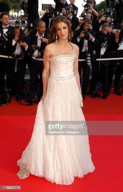 Nadia Fares during 2007 Cannes Film Festival 'Les Chansons d'Amour' Premiere at Palais des Festival in Cannes France