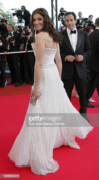 Nadia Fares during 2007 Cannes Film Festival 'Les Chansons d'Amour' Premiere at Palais des Festivals in Cannes France