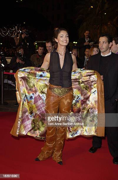 Nadia Fares during NRJ Music Awards 2002 Arrivals at Palais des Festivals in Cannes France