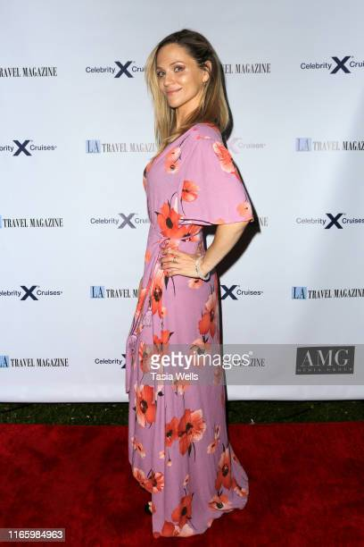 Nadia Gillespie attends Los Angeles Travel Magazine's Endless Summer Issue Release Party at Penthouse on August 02, 2019 in West Hollywood,...