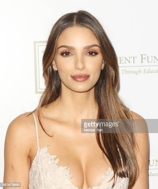 Nadia Gray attends A Legacy of Changing Lives presented by The Fulfillment Fund held at The Ray Dolby Ballroom at Hollywood Highland Center on March...