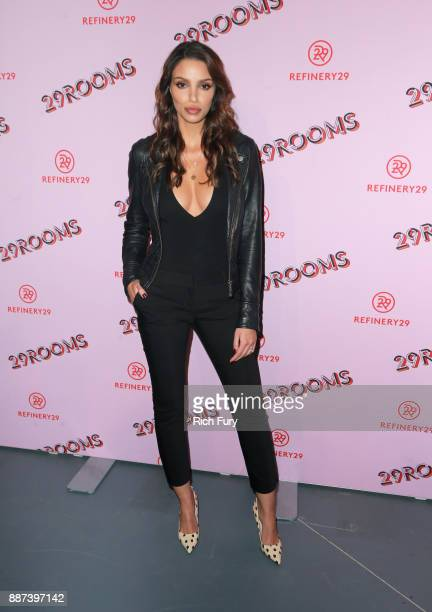 Nadia Gray attends Refinery29 29Rooms Los Angeles Turn It Into Art Opening Night Party at ROW DTLA on December 6 2017 in Los Angeles California