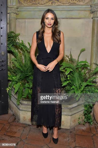 Nadia Gray attends Vanity Fair And Focus Features Celebrate The Film 'Phantom Thread' with Paul Thomas Anderson at the Chateau Marmont on January 10...