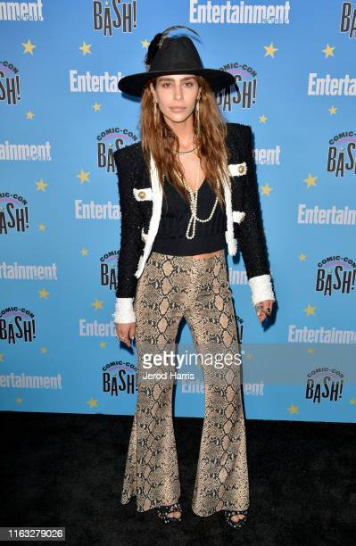 Nadia Hilker attends Entertainment Weekly ComicCon Celebration at Float at Hard Rock Hotel San Diego on July 20 2019 in San Diego California