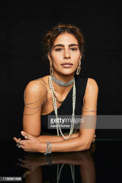 Nadia Hilker of The Walking Dead poses for a portrait in the Pizza Hut Lounge at 2019 ComicCon International San Diego on July 20 2019 in San Diego...