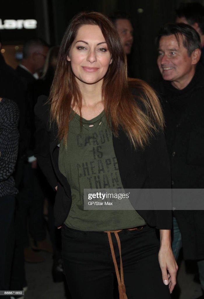 Celebrity Sightings in Los Angeles - December 8, 2017 : News Photo