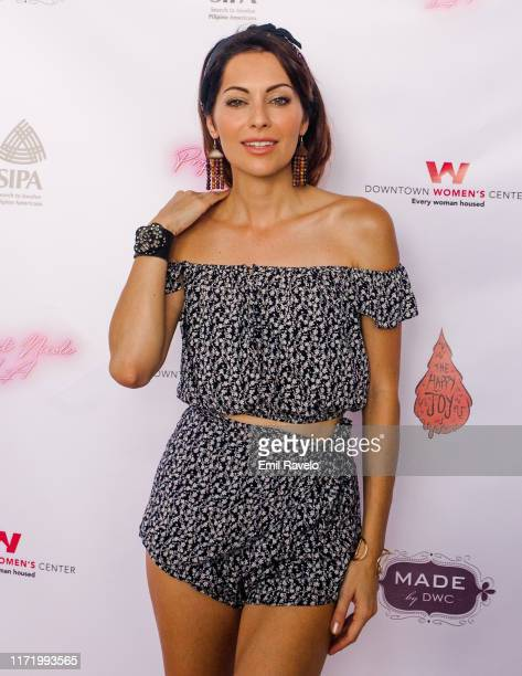 "Nadia Lanfranconi arrives for Bumble, Style and Society and Project Nicole L.A. Present ""LABOR DAY 4 Walls For All"" at Innerspace L.A. On September..."