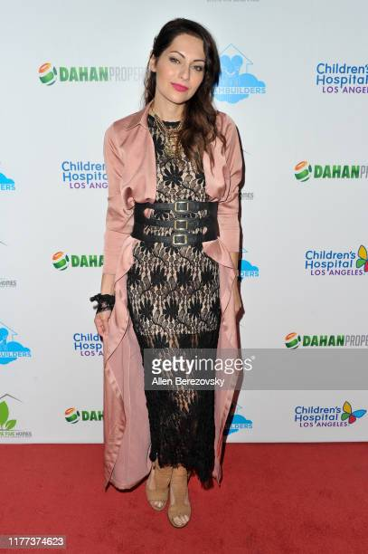 Nadia Lanfranconi attends A Brighter Future for Children Charity Gala presented by The Dream Builder Project at Taglyan Cultural Complex on September...