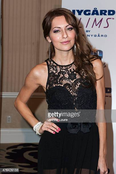 Nadia Lanfranconi attends Norby Walters' 24nd Annual Night of 100 Stars Oscar Viewing Gala at Beverly Hills Hotel on March 2 2014 in Beverly Hills...