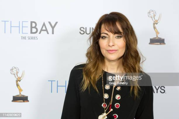 "Nadia Lanfranconi attends ""The Bay"" The Series Pre-Emmy Red Carpet Celebration at The Shelby on May 2, 2019 in Los Angeles, California."