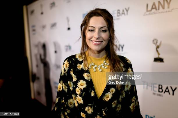 Nadia LanFranconi attends The Bay's PreEmmy Red Carpet Celebration at 33 Taps Hollywood on April 26 2018 in Los Angeles California