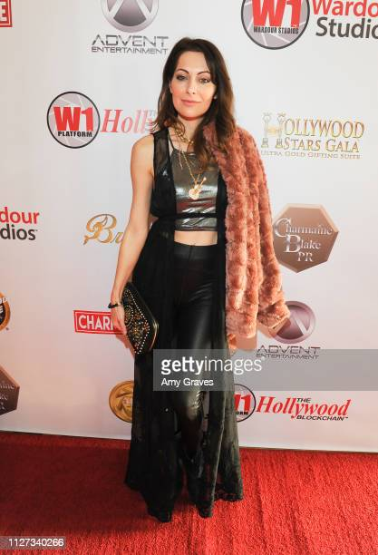 Nadia Lanfranconi attends the Charmaine Blake and the HOLLYWOOD STARS GALA™ Oscar® Viewing Party at The Beverly Hilton Hotel on February 24 2019 in...