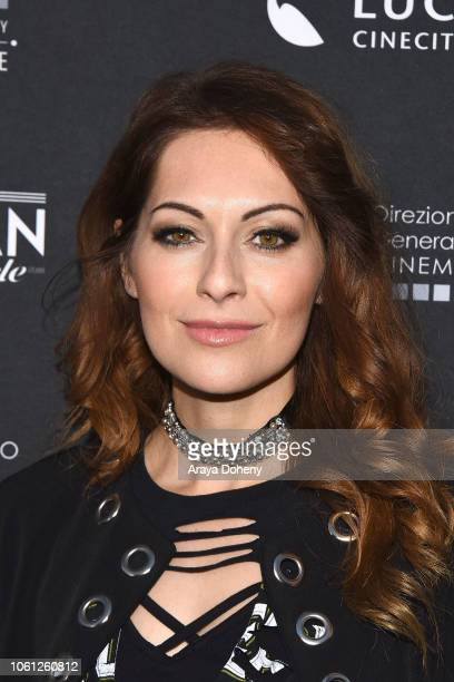 "Nadia Lanfranconi attends the Cinema Italian Style'18 Opening Night Gala Premiere Screening Of ""Dogman"" at American Cinematheque's Egyptian Theatre..."