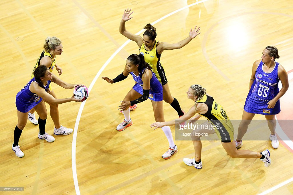 ANZ Championship - Central Pulse v Northern Mystics