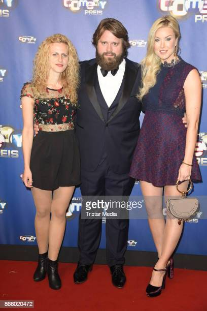 Nadia Migdal Antoine Monot Jr Nina Ensmann attends the German Comedy Awards at Studio in Koeln Muehlheim on October 24 2017 in Cologne Germany