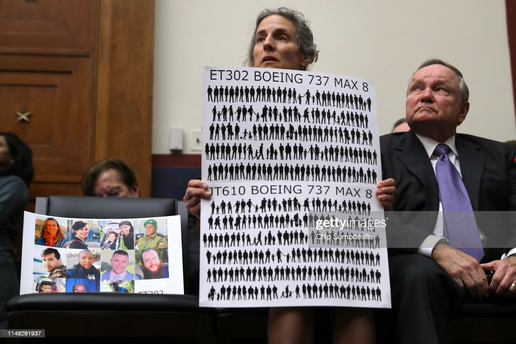 House Holds Hearing On Status Of Boeing 737 MAX : News Photo