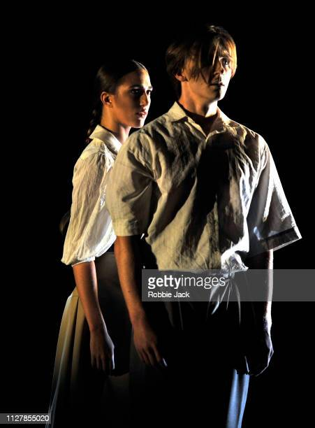Nadia Mullova Barley and Harry Churches in The Royal Ballet's production of Kristen McNally's Based on a True Story at The Royal Opera House on...