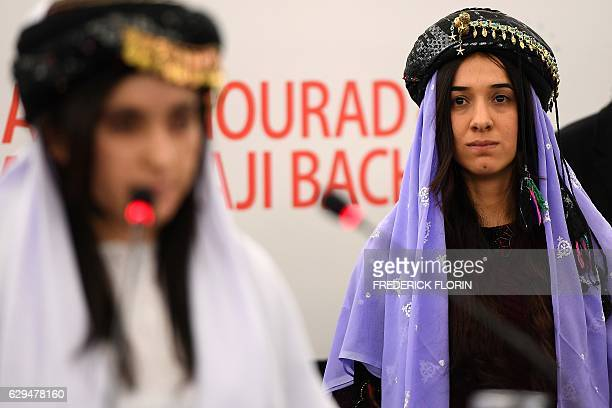 Nadia Murad and Lamia Haji Bashar public advocates for the Yazidi community in Iraq and survivors of sexual enslavement by the Islamic State...