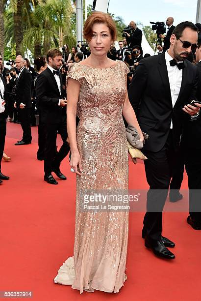 Nadia Petrenko attends the closing ceremony of the 69th annual Cannes Film Festival at the Palais des Festivals on May 22, 2016 in Cannes, France.