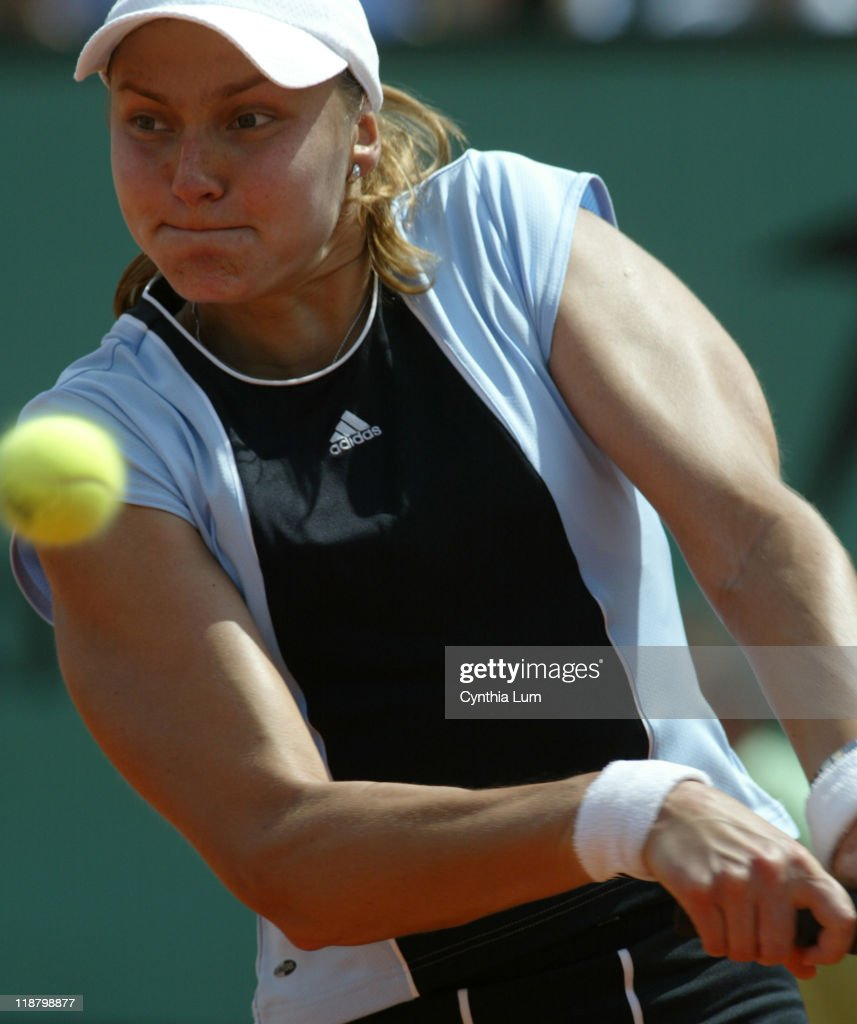 2005 French Open - Women's Singles - Semi Final - Justine Henin-Hardenne vs
