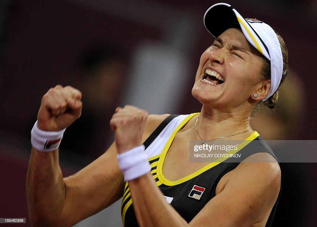 TENNIS-WTA-BUL : News Photo