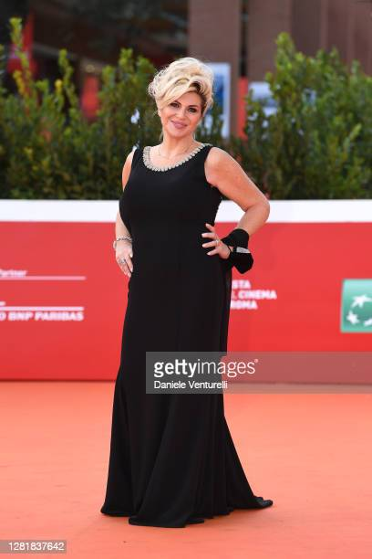 """Nadia Rinaldi attends the red carpet of the movie """"Borat"""" during the 15th Rome Film Festival on October 23, 2020 in Rome, Italy."""