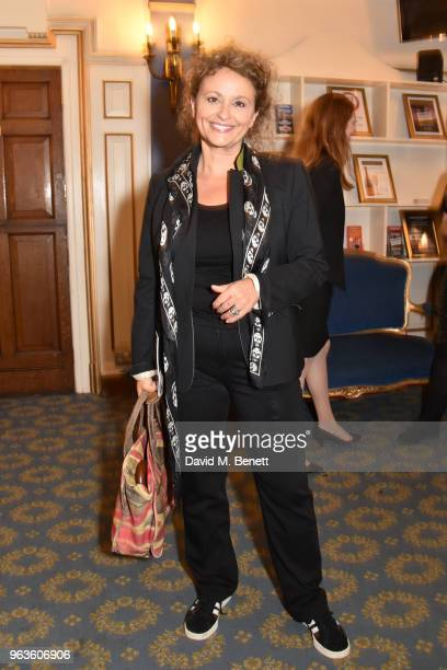 Nadia Sawalha arrives at the press night performance of 'Consent' at the Harold Pinter Theatre on May 29 2018 in London England
