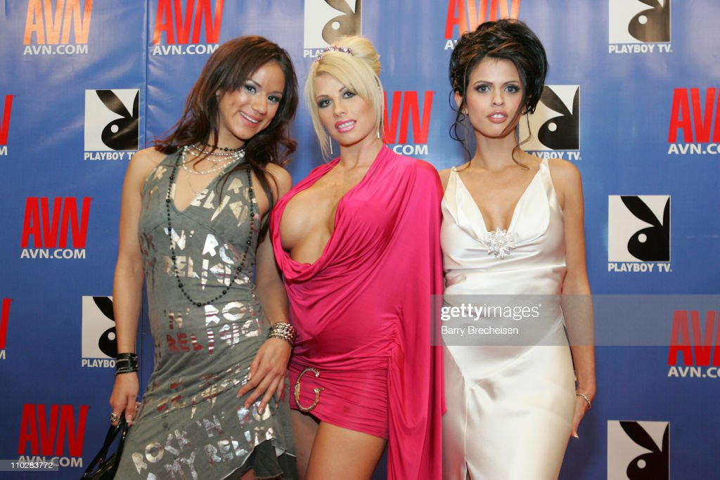 Nadia Styles Brooke Haven Shy Love During 23rd Annual AVN Awards Show Red
