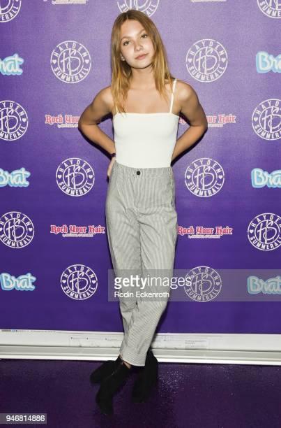 Nadia Turner attends Hayden Summerall's 13th Birthday Bash at Bardot on April 15 2018 in Hollywood California
